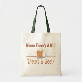 There's a Beer Tote Bag