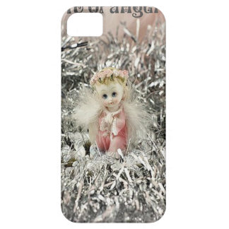 There's A Bit Of Angel In All Of Us iPhone 5 Covers