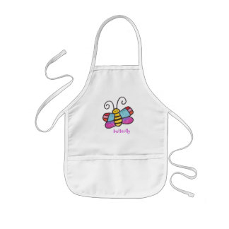 There's A Butterfly On My Apron! Kids' Apron