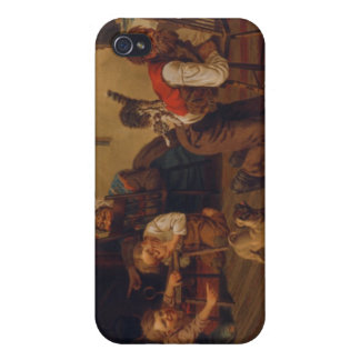 There's A Cat on Dad's Back!! Covers For iPhone 4