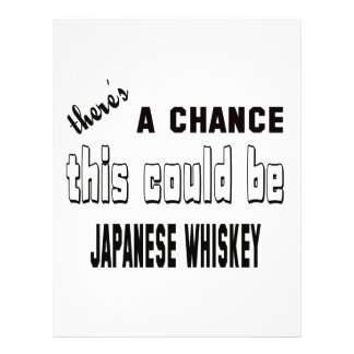 There's a chance this could be Japanese Whiskey. Letterhead