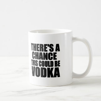 There's a chance this could be vodka basic white mug