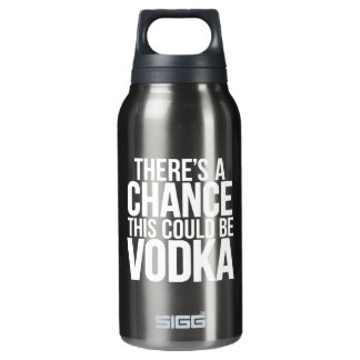 There's a chance this could be vodka thermos water bottle