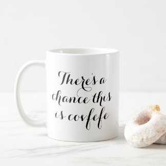 There's a chance this is covfefe | funny mug