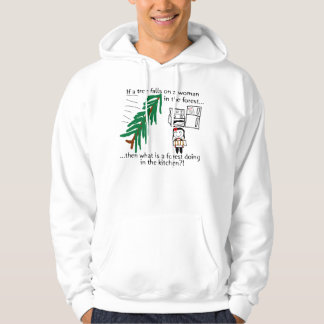 There's a forest in the kitchen?! hoodie