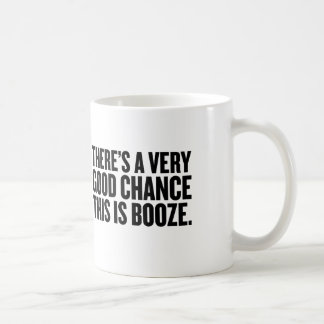 There's a good chance this is  booze mug. classic white coffee mug