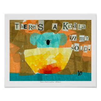There's a Koala in My Soup. Poster