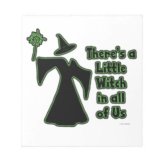 There's a Little Witch Notepad