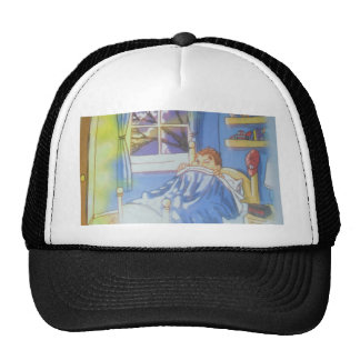 There's A Monster In My Closet By Linda Polistina Trucker Hat