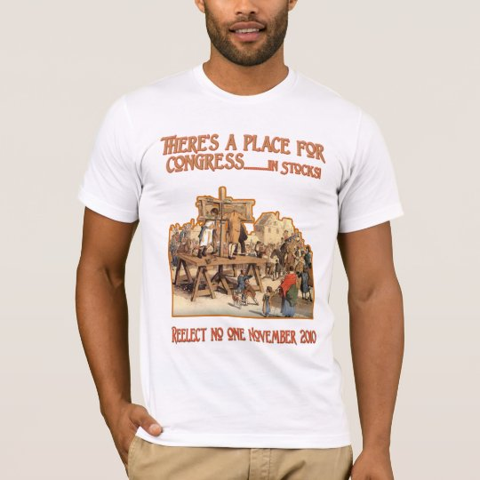 There's a Place for Congress-  in Stocks T-Shirt