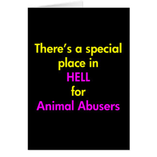 There's A Special Place In Hell Greeting Card