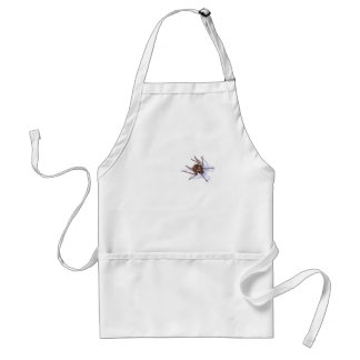 There's a spider on my chef adult apron