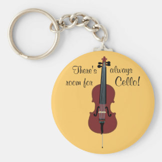 There's always room for Cello! Keychain