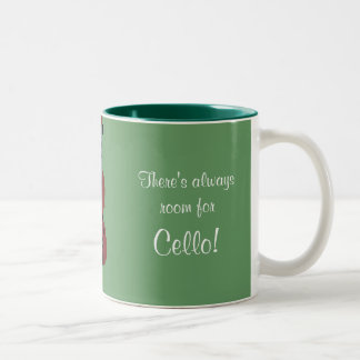 There's always room for Cello! Two-Tone Coffee Mug