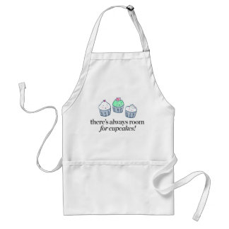 There's Always Room for Cupcakes Adult Apron