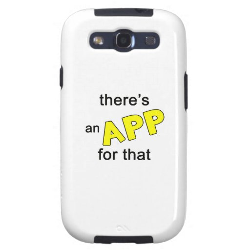 There's an App for that Galaxy S3 Covers