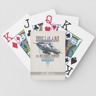 There's an Art to Rocket Science Playing Cards