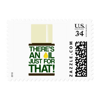 There's an Oil for That Postage Stamp
