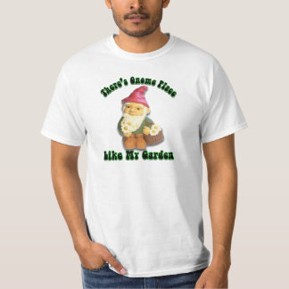 There's Gnome Place Like My Garden Gifts T-Shirt