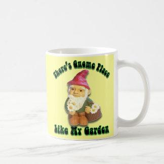 There's Gnome Place Like My Garden Mug Basic White Mug