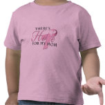 There's Hope for Breast Cancer Mom Shirt