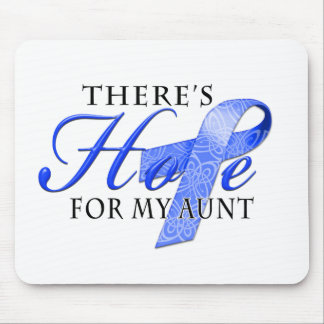 There's Hope for Colon Cancer Aunt Mouse Pad