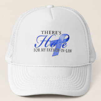 There's Hope for Colon Cancer Father-In-Law Trucker Hat