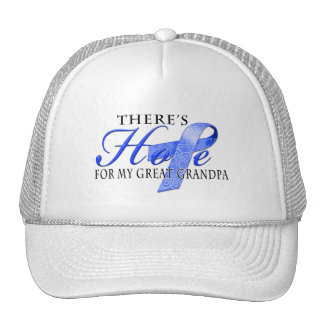 There's Hope for Colon Cancer Great Grandpa Trucker Hat