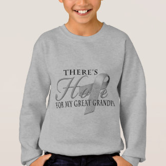 There's Hope for Diabetes Great Grandpa Sweatshirt