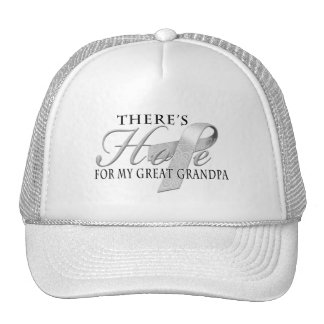 There's Hope for Diabetes Great Grandpa Trucker Hat