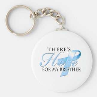 There's Hope for Prostate Cancer Brother Keychain