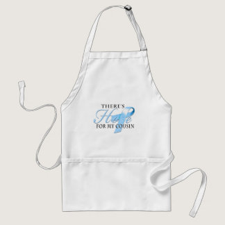 There's Hope for Prostate Cancer Cousin Adult Apron