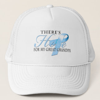 There's Hope for Prostate Cancer Great Grandpa Trucker Hat