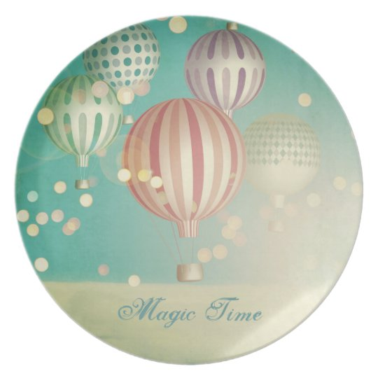 There's magic in the air (Christmas Time) Melamine Plate