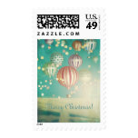 There's Magic in The Air - Merry Christmas Postage Stamp