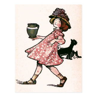 """""""There's many a slip....Vintage Illustration Post Cards"""