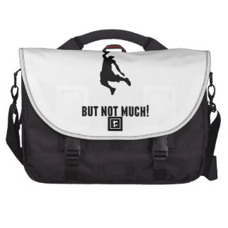 There's More To Life Than Basketball Laptop Messenger Bag