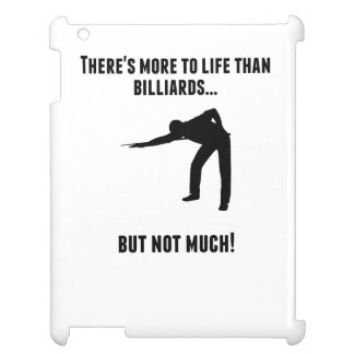 There's More To Life Than Billiards Cover For The iPad 2 3 4