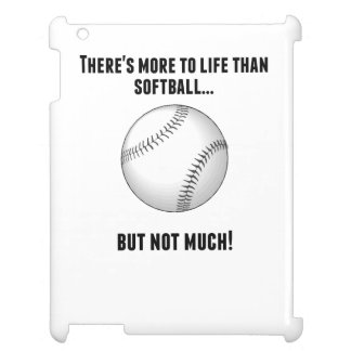 There's More To Life Than Softball iPad Covers
