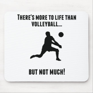 There's More To Life Than Volleyball Mouse Pad