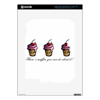 There's muffin you can do about it iPad 3 decal