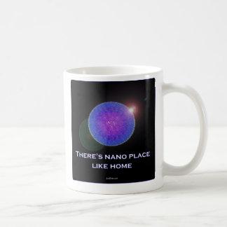 There's nano place like home (2) classic white coffee mug