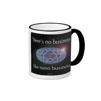 There's no business like nano business. (2) ringer coffee mug