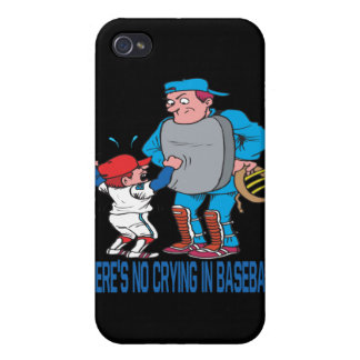 Theres No Crying In Baseball iPhone 4/4S Case