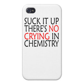 There's No Crying In Chemistry Cases For iPhone 4