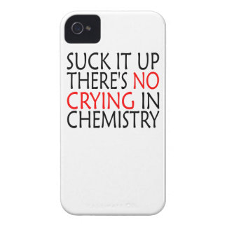 There's No Crying In Chemistry iPhone 4 Covers