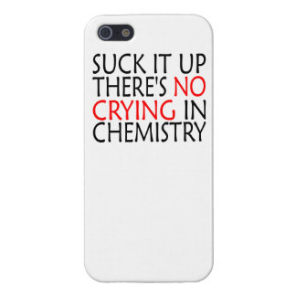 There's No Crying In Chemistry iPhone 5/5S Cover