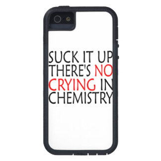 There's No Crying In Chemistry iPhone 5 Cover