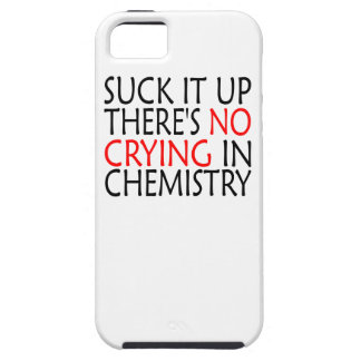 There's No Crying In Chemistry iPhone 5 Covers