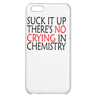 There's No Crying In Chemistry iPhone 5C Cover